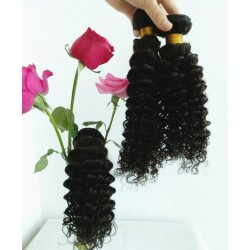 7A 100% brazilian virgin 3 bundles curly wefts-unprocessed