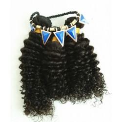 3 bundles 100% Malaysian virgin curly weaves-unprocessed