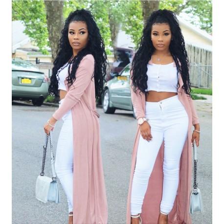 Malaysian virgin African Curl full lace stock wig--AC001