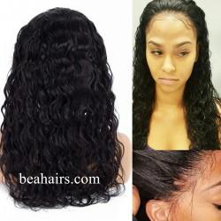 Brazilian virgin Water Wave 360 frontal lace wig-[HT226]