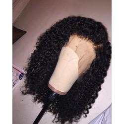 brazilian virgin Jerry Curl full lace silk top wig--[JC001]