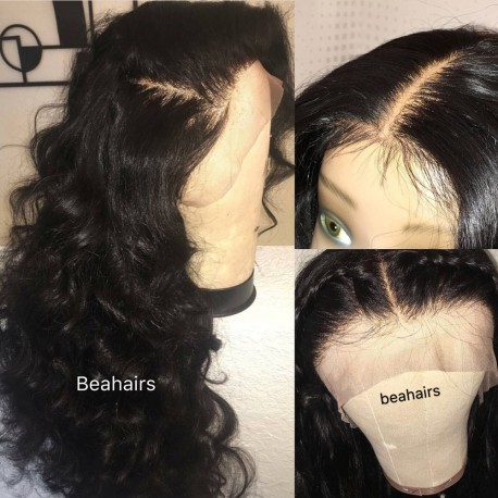 Brazilian virgin Loose Deep Wave 360 frontal lace wig-[HY121]