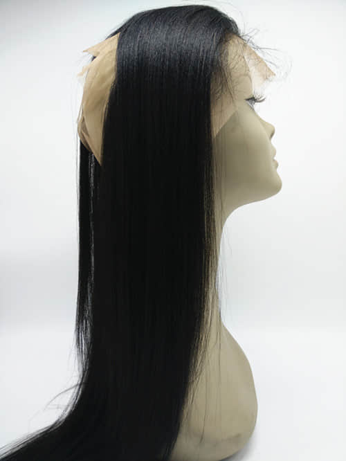 Brazilian virgin 360 lace frontal closure light yaki lf234 bea 5ght yaki straight texturevery natural lookingbest hair for black womenmimic african and american pmusecretfo Images