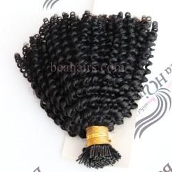 10A grade virgin human hair wholesale microlink I tips hair extensions