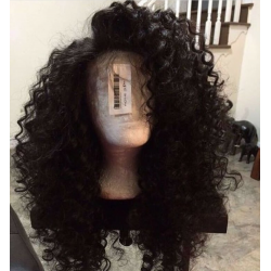 Big deep wave curly 360 lace wigs-BC213