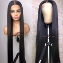 Stock silk straight 5*5 HD skin melt lace closure wig--HD004