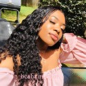 Stock wet wave 5*5 HD skin melt lace closure wig--HD109