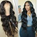 Stock loose body wave 5*5 HD skin melt lace closure wig--HD003