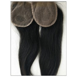 Malaysian virgin natural straight lace closure