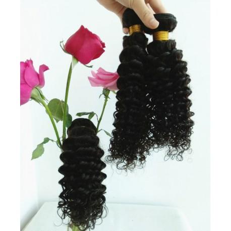 7A 100% brazilian virgin 3 bundles curly wefts-unprocessed