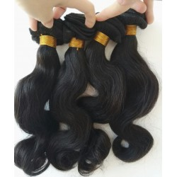 indian remy 4 bundles body wave wefts