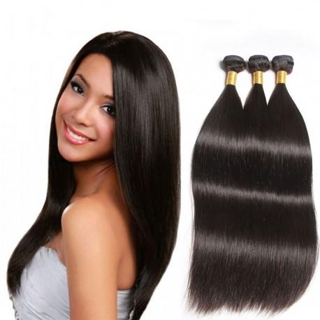 7A 100% brazilian virgin 3 bundles silk straight-unprocessed