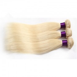 3 bundles deals--Brazilian virgin silk straight color 60 for Brazil white people