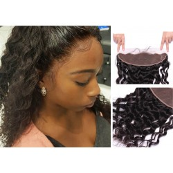 Brazilian virgin water wave lace frontal for black women