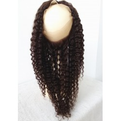 brazilian virgin 360 Lace Frontal closure 8 mm curl