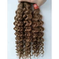 3 bundles for brazilian virgin deep wave color 27-[DW27]