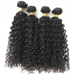 4 bundles brazilian virgin wet wave wefts-[WW444]