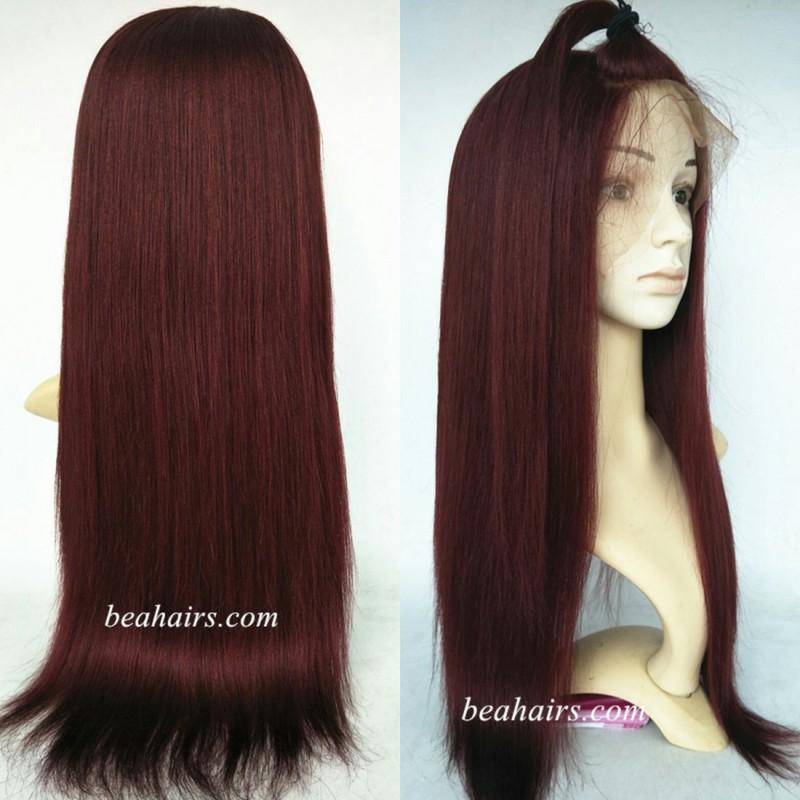Brazilian Virgin Light Yaki360 Frontal Wig With Weaves Sewn In Ht699 Loading Zoom