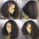 In stock-Brazilian virgin bob curl 360 frontal lace wig-[HT228]