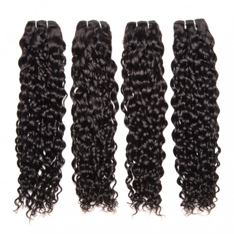 8A grade brazilian virgin 4 bundles oceanwave wefts--[HM006]