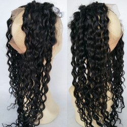 brazilian virgin water wave 360 Frontal---[HM008]