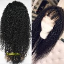 Pre-plucked Brazilian virgin Water Wave 360 frontal lace wig-[HT666]