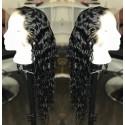 Brazilian virgin Wet Wave full lace bleached knots wig-[WWW003]