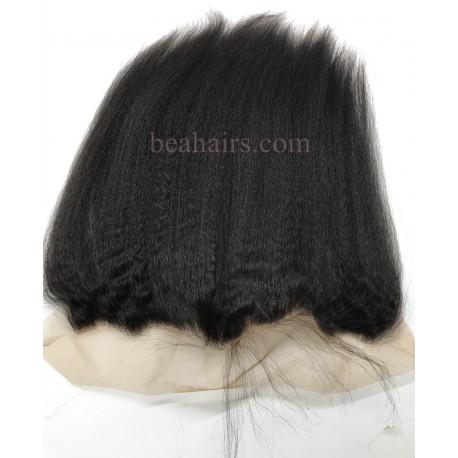 In stock---Brazlian virgin italian yaki lace frontal