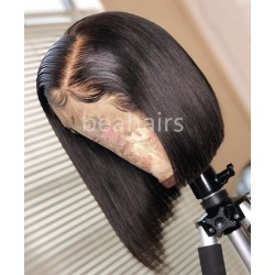 Summer BOB style--brazilian virgin silk straight full lace wig--BB111