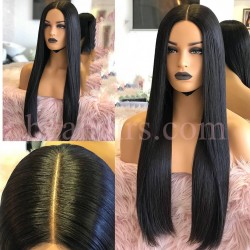 Stock 150% Density wigs 13x6 Lace Front Brazilian Virgin Human Hair --NLW678