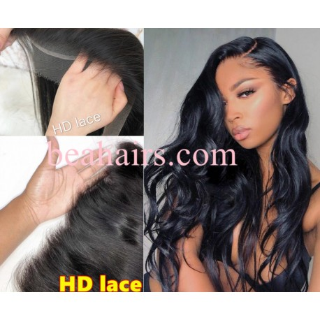 10A top quality body wave HD lace wig--BH237