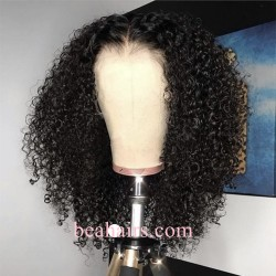 150% Density 6 inch parting Lace Front Brazilian Virgin water wave --NLW679