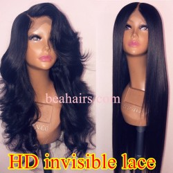 Skin Melt HD Lace Undetectable Knots Ready to Wear 13*6 Lace Front Wig--BH234