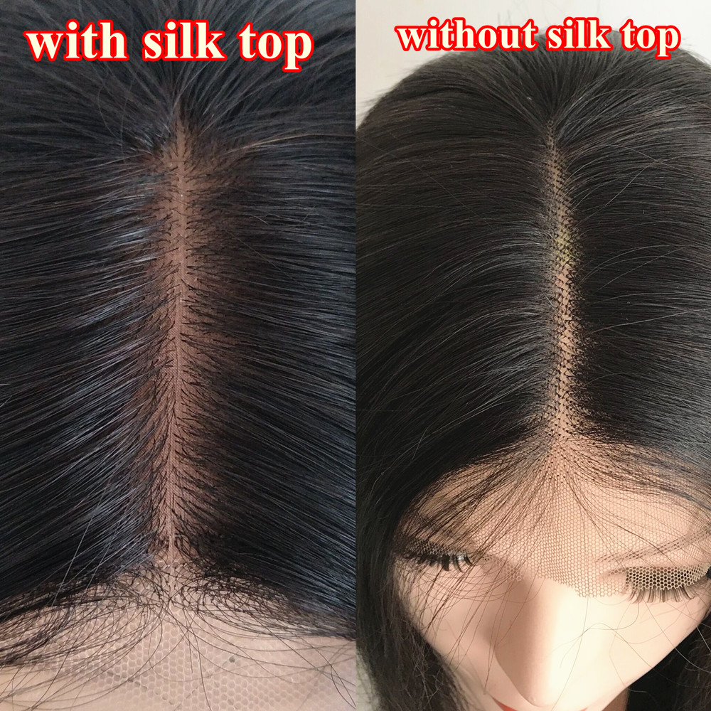 Brazilian Virgin Water Wave Glueless Full Lace Silk Top Wig Www888